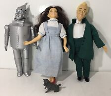 Turner Presents 1987 Wizard of Oz Doll Lot Dorothy The Wizard Tin Man