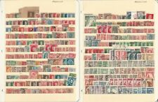Argentina Stamp Collection on 4 Stock Pages, Interesting Lot, DKZ