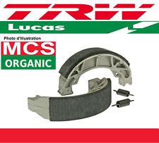 Jeu 2 Mâchoires de frein Arrière TRW Lucas MCS817 Honda CB 125 T (CB125T) 78-79