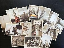 B003-VINTAGE Old Buildings,Eiffel Tower,Empire State : Die Cuts for Scrapbooking
