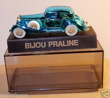 NEUF PIN'S BIJOU PRALINE HO 1/87 AUTO UNION HORCH 853 A BLEU METAL IN BOX NEUF
