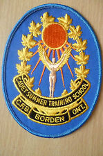 Patches:CADET SUMMER TRAINING SCHOOL C.F.B BORDEN ONT. PATCH(NEW*apx.13x10cm))