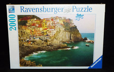 Ravensburger Jigsaw Puzzle Cinque Italy Seaside Town View 2000 Pieces New
