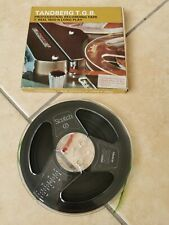 """Boxed Tandberg/3M Scotch, 7"""" Reel to Reel 1/4"""" Long Play 1800ft Recording Tape"""