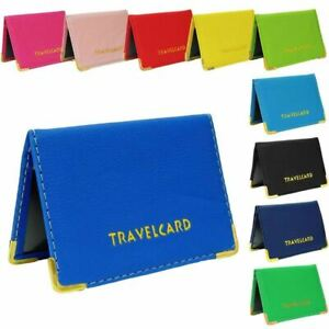 New Travel Cards Oyster Card Bus Pass Holder Wallet Rail Card Ticket Cover UK