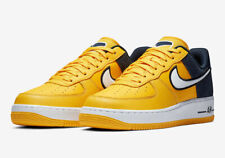 best cheap c5dcb 7ef6a Nike Men s Air Force 1  07 Lv8 1 Shoes Amarillo white-obsidian Ao2439