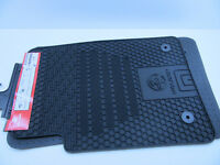 HEAVY DUTY Black rubber Floor Mats Front Set of 2 COMMODORE HOLDEN VE VF GM
