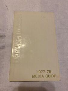 1977-78 DENVER NUGGETS NBA Media Guide Rare Basketball Yearbook