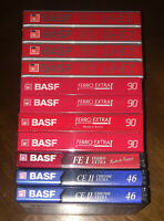 11) BASF Ferro Extra FE-I 90 CE-II 46 vintage Tape for Cassette deck