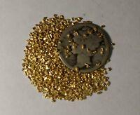 1 Alaskan Gold Nugget 17 to 22k 25 Mesh - Buy 3 Get One Free & Free Shipping