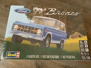 Revell Muscle Model Kit Ford Bronco 1/25 Scale Sealed