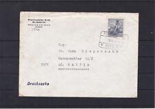 Bahnhofkastenstempel St. Gabriel / Mödling auf Brief gelaufen 1987