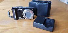 Panasonic LUMIX DMC-TZ10 12.1MP Digital Camera - Black