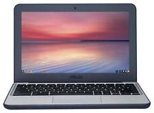 ASUS Chromebook C202 11.6 Inch Intel Celeron 1.6GHz 2GB 16GB Laptop - Blue/White