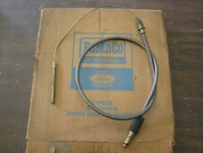 NOS OEM Ford 1955 1956 Fairlane Front Brake Cable Crown Victoria
