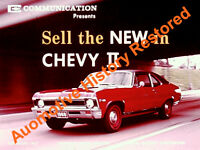 1968 Chevrolet Chevy II Dealer Promo Versus Valiant & Falcon Film CD MP4 Format