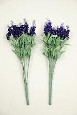 Kunstpflanze Lavendel im 2er-Set Dekoration Dekoblume Pflanze Blume Geschenk