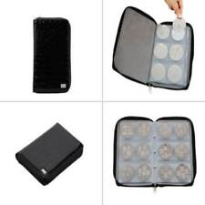 Bundle Monster Nail Stamp Stamping Plate Zippered Synthetic Leather Case Plates