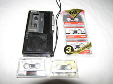 Vintage Sony M-7 Microcassette-Corder with Sony Tapes - Made in Japan - Tested