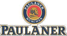 "Paulaner Beer Alcohol Bumper sticker, wall decor, vinyl decal, 5""x 2.6"""