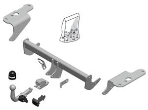 Brink Towbar for Toyota Auris Van 2013-2018 - Detachable Tow Bar