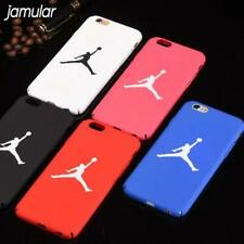 Jumpman Matte Red Blue Black Jordan iPhone Case 6/7/8 Plus X 11