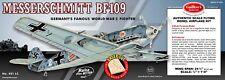 Guillow's Messerschmitt Bf 109 Balsa Wood Flying Model Airplane Kit  GUI-401