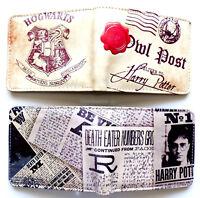 Harry Potter Bifold Wallet purse id window 2 card slot zip coin Cartoon Movie