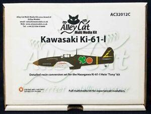 Alley Cat #32012 1/32 Hasegawa KAWASAKI Ki-61-I Resin Model Conversion Kit!