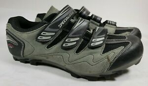 Specialized Sport Men's Mountain Bike Shoes Size 12 EU 45 gray black suede