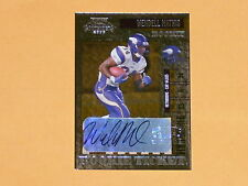 2006 Playoff Contenders Rookie Ticket Auto Football Card # 153 Wendell Mathis