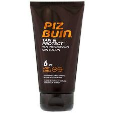 NEW Piz Buin Tan and Protect Intensifying Sun Lotion SPF6 150ml