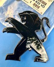 LOGO PEUGEOT LION CAPOT NOIR  308 BADGE ORIGINAL 98024633VD GTI Depuis 06/2013