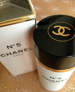 CHANEL No5 Talc Body Powder 150g Superb Discontinued New Sealed But Creased Box