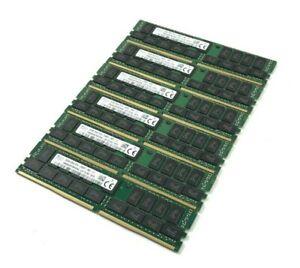 Job Lot x6 - SK Hynix 32GB 2Rx4 PC4-2400TRB1-11 (HMA84GR7MFR4N-UH TD AD)