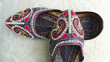 BROWN LADIES INDIAN WEDDING PARTY KHUSSA SHOE SIZE 6