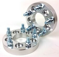 "4X Conversion Wheel Adapters 5X100 To 5X114.3 ( 5X4.5"" ) 12X1.25 1 Inch 25MM"