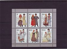 LATVIA - SGMS376 MNH 1993 TRADITIONAL COSTUMES