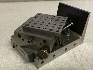 Radius jig plate tapped, setup Fixture precision ground Tool & Die Makers Jig