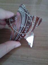 Ciondolo in plastica a forma di stelle fantasia orientale
