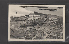 POST CARD NORANDA QC 1940 REAL PHOTO  AERIAL VIEW