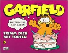 Garfield 5. Buch: Trimm dich mit Torten (Ehapa, 1. Auflage 2008) Z 1-2+