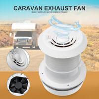 Motorhome Caravan Boat 12V RV Accessories Cooling Exhaust Fan Air Vent External