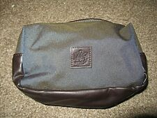 BRITISH AIRWAYS FIRST MALE BAG AMENITY KIT EMPTY FOR ITEMS MINT