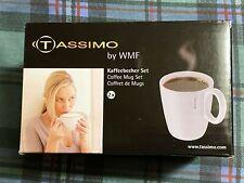 Tassimo by WMF Set of 2 Coffee Mugs approx 250ml