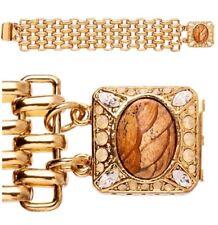 Mimco Prehysteria Chain Wrist $129 Gold 💓💓💓 Bracelet Cuff Bangle + Dust Bag