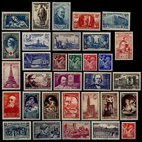 L'ANNÉE 1939 Complète, Neufs * = Cote 157 €  / Lot Timbres France 419 à 450