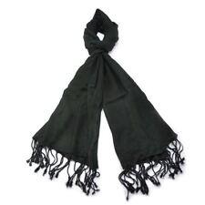 Écharpes et châles vintage noir