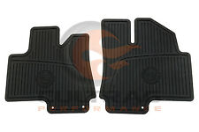 2010-2016 Cadillac SRX Genuine GM Front All Weather Floor Mats Black 19172258