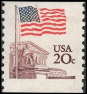 US #1895 MNH EFO: supreme court in brown